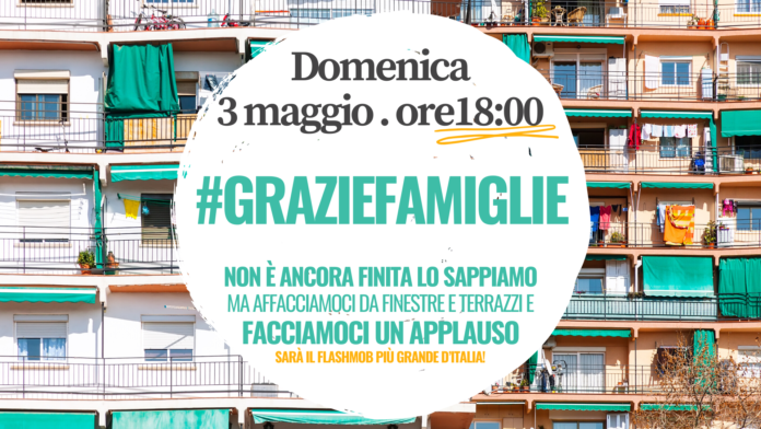 Flashmob famiglie #graziefamiglie