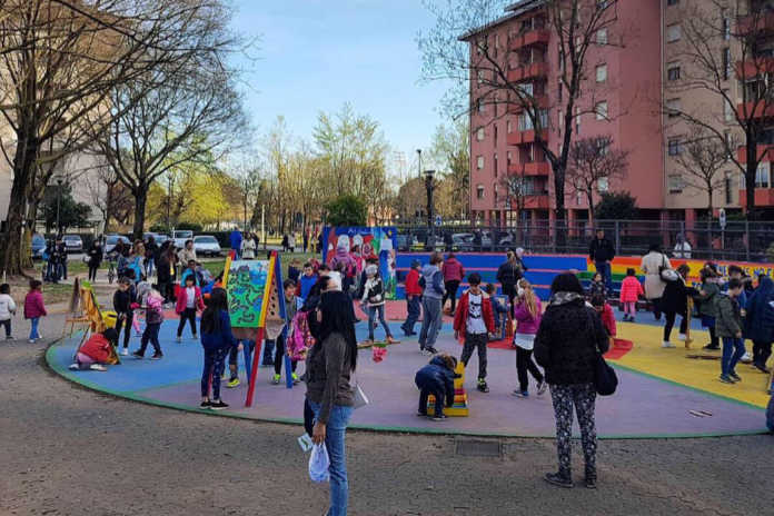 Festa di primavera quartiere San Paolo
